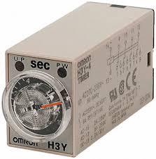 OMRON H3Y-4 Relè a tempo 0-10 secondi 12V DC 5A 250VAC resistivo timer relè temporizzatore
