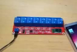 Relè Bluetooth 8 canali 24 V per Arduino