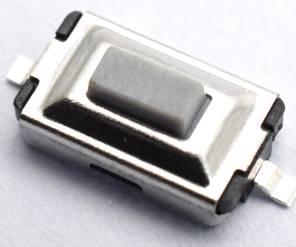 20 pezzi Whtie TD-19XA / 3 * 6 * 2.5 Tach Switch / SMD 2pins Switch