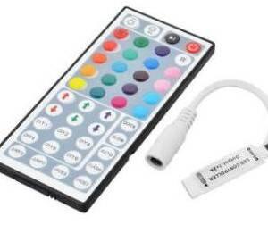 Mini controller wireless DC12V 72W con telecomando a 44 tasti per luce di striscia a LED RGB