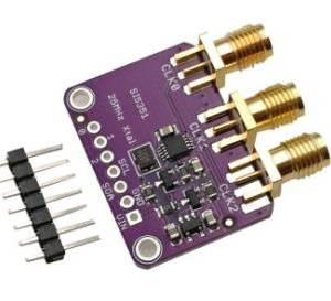 CJMCU-5351 Si5351A Si5351 I2C Generatore di clock Breakout Board Modulo Modulo generatore di segnali Clock 8KHz-160MHz per DC Ar