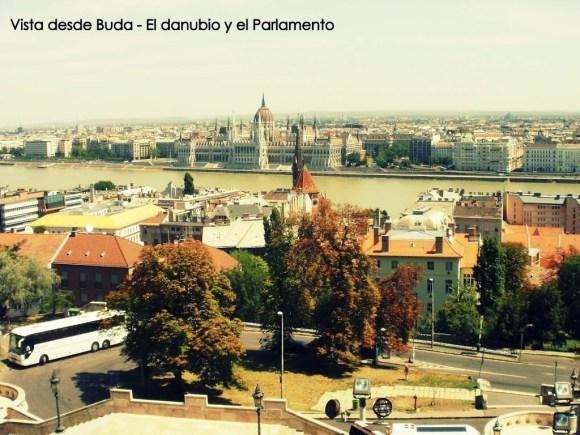 Vista del Danubio, Budapest