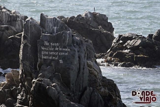 Frase sobre piedra