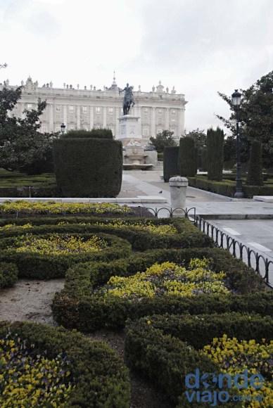 Parques del Palacio Real