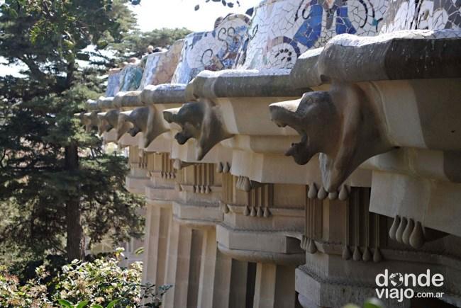 Plaza central Parque Güell