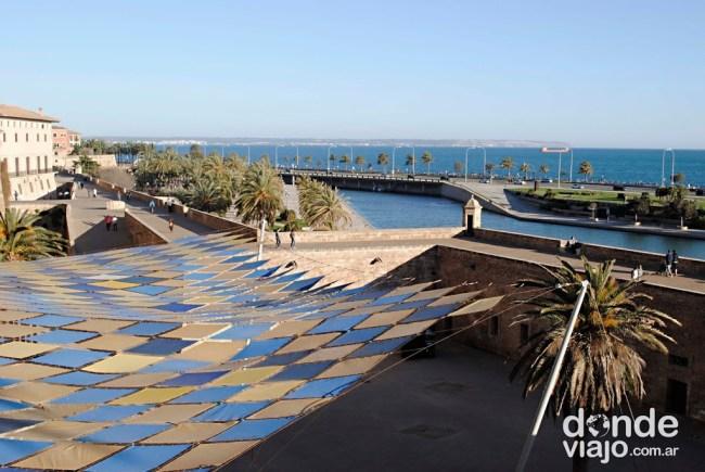 Paseo costero de la ciudad de Palma