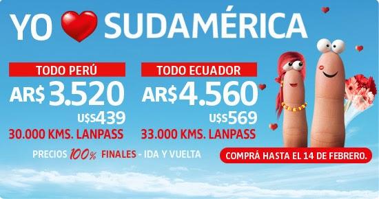 Promo LAN a Sudamérica