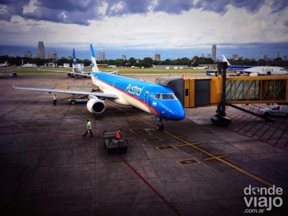 Avión de Austral