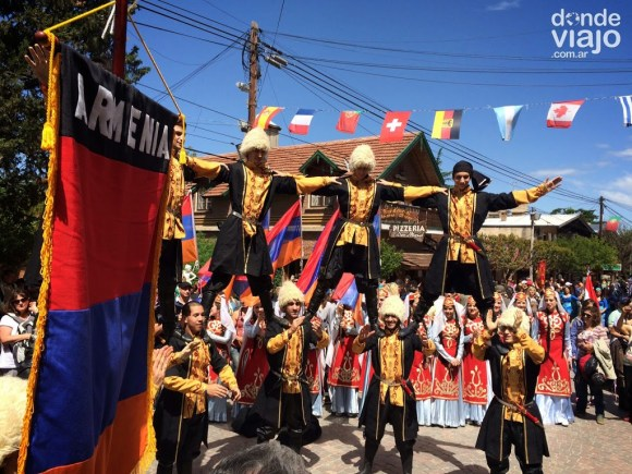 Colectividad armenia en Oktoberfest