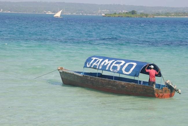 Precaria embarcación