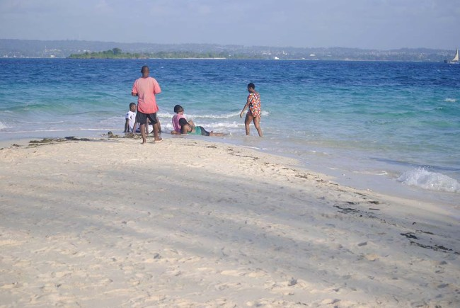 Playa de prison island