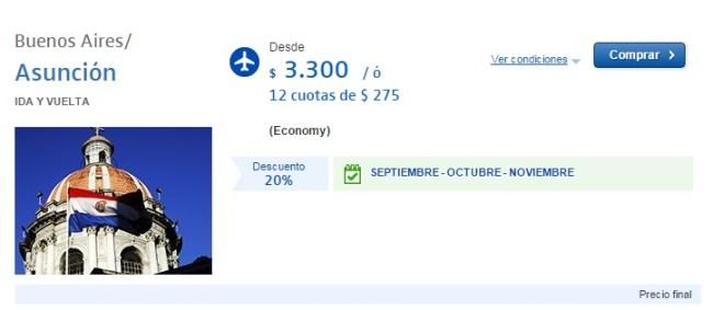 Promoción a Asunción