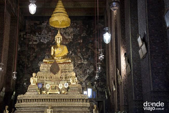 Interior templo Bangkok