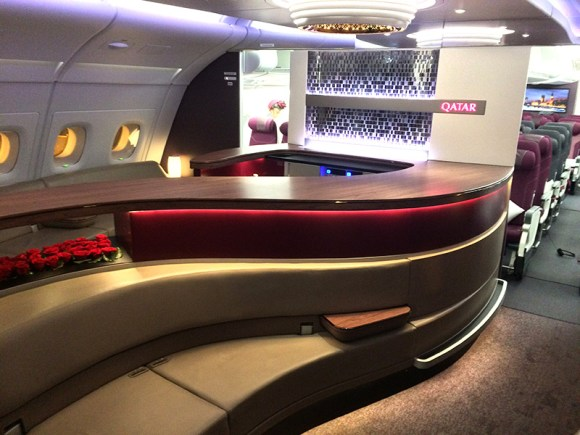 VIP lounge A380