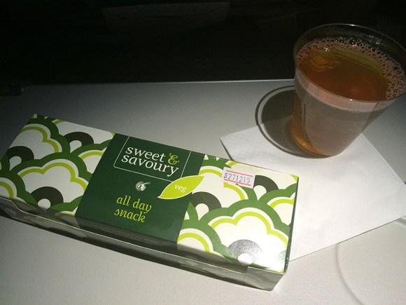 Snack de Qatar Airways