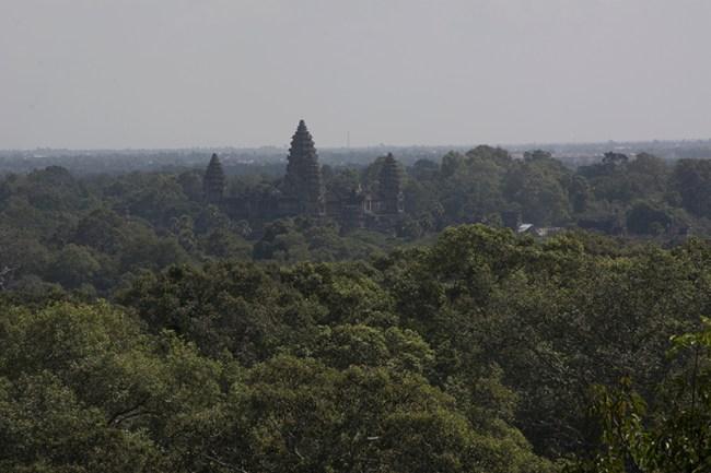Angkor Wat, vista aérea
