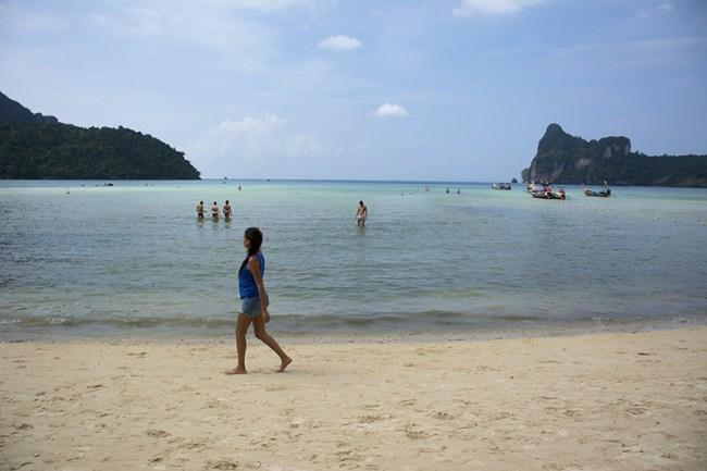 Playa Loh Dalum, Ko Phi Phi