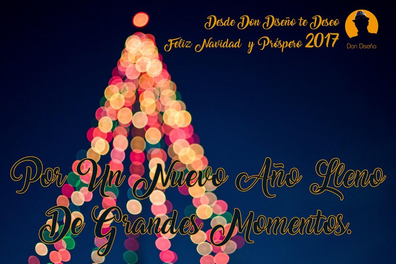 DonDiseño - Diseña Tus Mejores Deseos Y Dales Forma - Feliz 2017 - Felicitacion navidad 2017 - 03