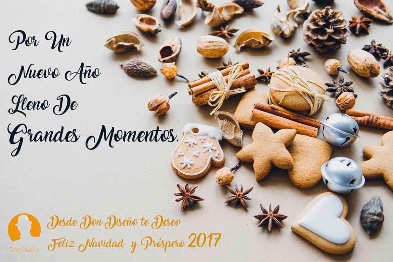 DonDiseño - Diseña Tus Mejores Deseos Y Dales Forma - Feliz 2017 - Felicitacion navidad 2017 - 04
