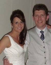 The late Roisin and her husband Stephen.