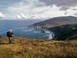 Juliette loved Donegal's coastline including Ardara.