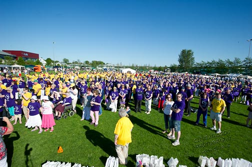 The Relay for Life event is hoping for some good weather this year.