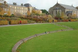 The grounds of St Conal's Hospital.
