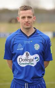Kevin McHugh scored a stunning a hat-trick to send Harps through to the last four.