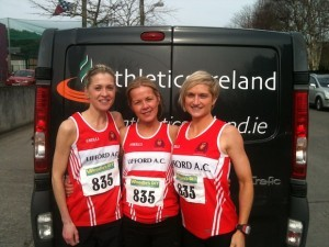 Lifford athletes including Ann-Marie McGlynn right are in action this weekend.
