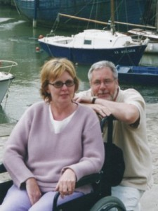 The late Marie Fleming with her husband Tom.