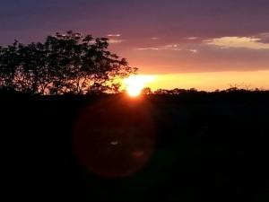 Sunset in Glenties from Eamonn McNeilis