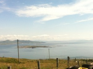 The woman was stabbed on Arranmore Island.