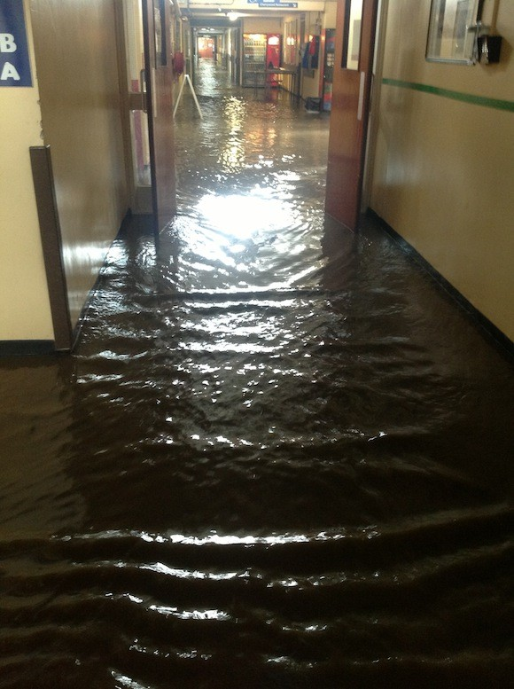 Flashback - the flood at the hospital last year. Donegaldaily.com