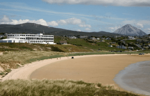 Donegal's beaches will see more visitors from Britain and the North this year