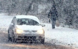 Motorists have been warned to take care with further wintry showers forecast for the coming days.