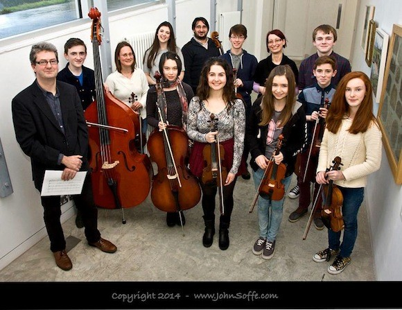 The Donegal Chamber Orchestra PICTURE: With the kind permission of John Soffe (www.johnsoffe.com) Check his Facebook page (https://www.facebook.com/JohnSoffePhotography),