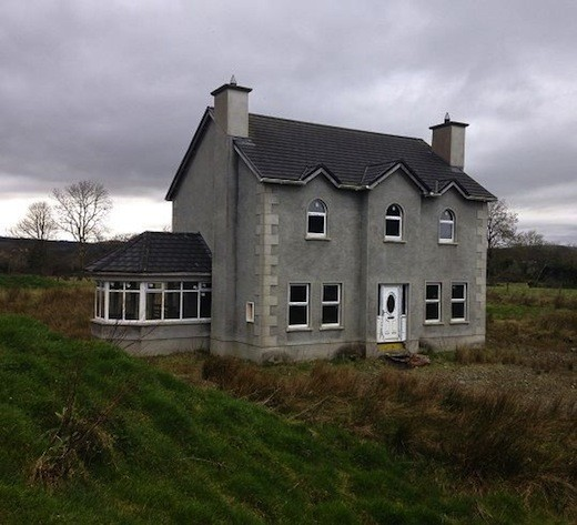 The house in Convoy which goes under the hammer for just €15,000 next month.