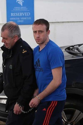 Michael O'Connor leaving court yesterday.