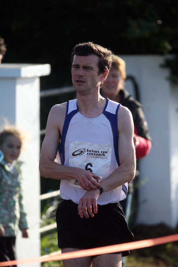 Ivan Tonner 1st home on the Carrigart 5k. Photo Brian McDaid