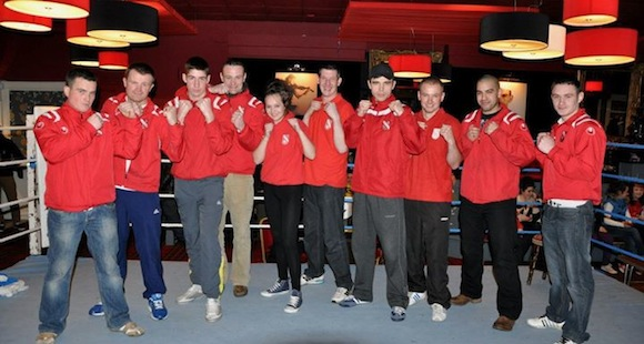 Members of Carndonagh Boxing Club.