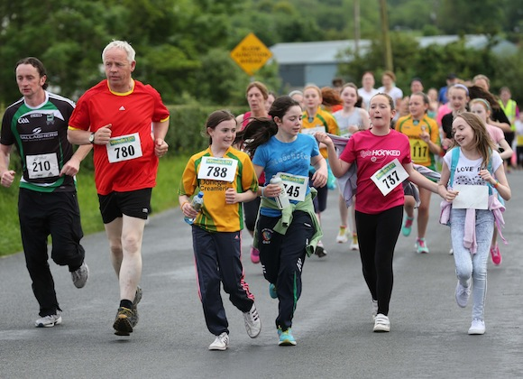 The Sessiaghoneill NS 5K Fun Run & Walk was a huge success with participants of all ages taking part. Pic.: Gary Foy, newsandsportfiles