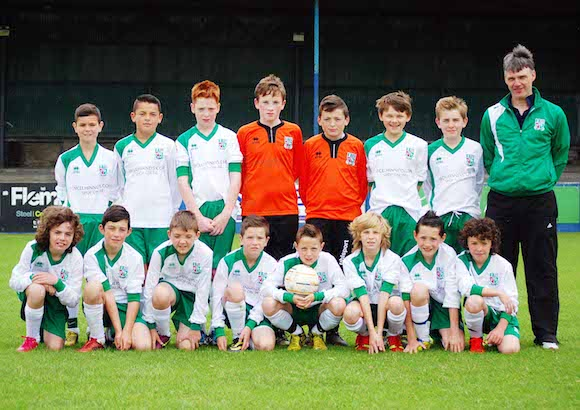 East Donegal Representative Squad - Finn Harps Under 12 Cup 2014 - 3rd Place