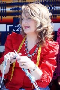 Knitting queen Edel McBride