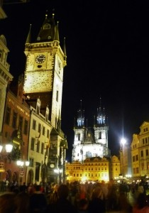 Old Town Hall and the Church of Our Lady before Týn