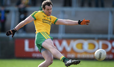 Michael Murphy: His Glenswllly team are through to the county final