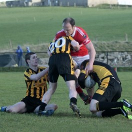 Colm McFadden was in stunning form as St Michaels powered past the challenge of St Eunans earlier this afternoon.