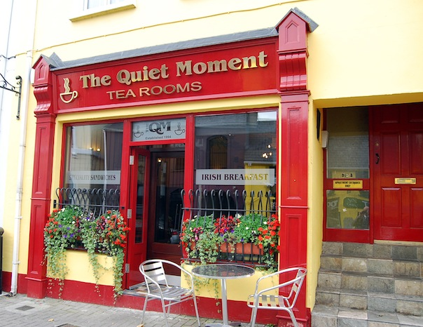 The Quiet Moment Tearooms as they stand proudly today.
