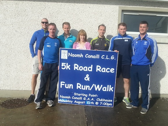 The lads launch the Naomh Chonail 5K