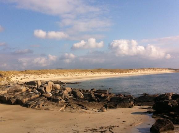 Port Arthur beach near Gaoth Dobhair which is being treated like a dump-site.