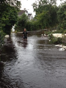 Floods have left parts of Donegal under water.
